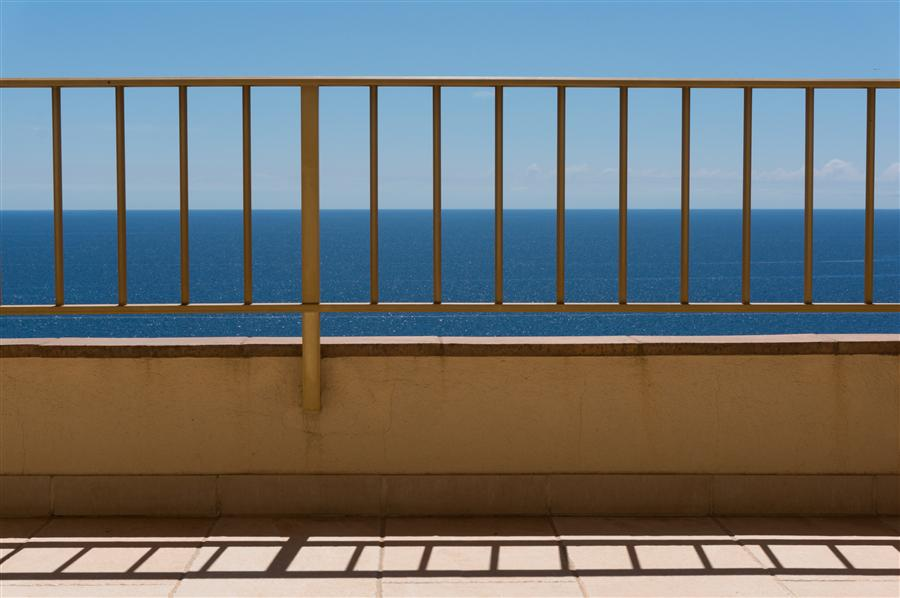 Original art for sale at UGallery.com | Balcony by KIMBERLY POPPE | $145 |  | ' h x ' w | \art\photography-Balcony