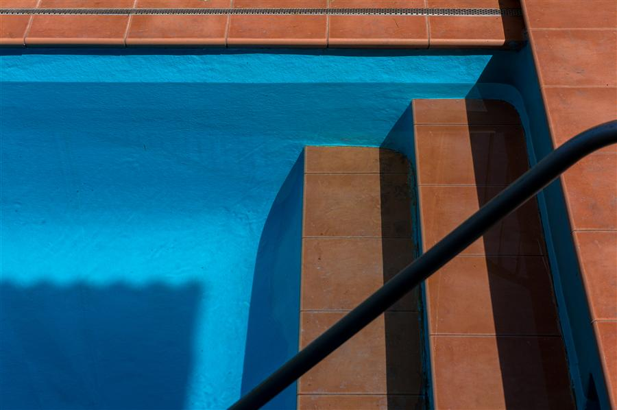 Original art for sale at UGallery.com | Swimming Pool by KIMBERLY POPPE | $145 |  | ' h x ' w | \art\photography-Swimming-Pool-34519