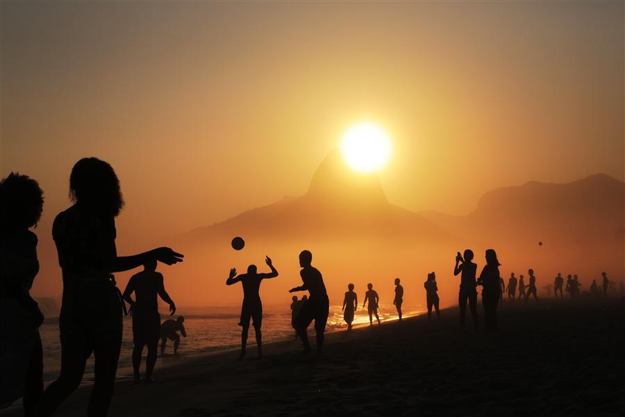 Original art for sale at UGallery.com | Ipanema by MARIA PLOTNIKOVA | $145 |  | ' h x ' w | \art\photography-Ipanema