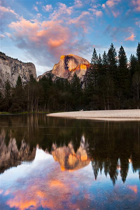 Discover Original Art by Jay Moore | Half Dome at Sunset photography | Art for Sale Online at UGallery