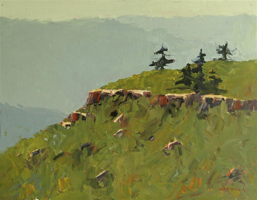 Discover Original Art by Rodgers Naylor | Long View oil painting | Art for Sale Online at UGallery