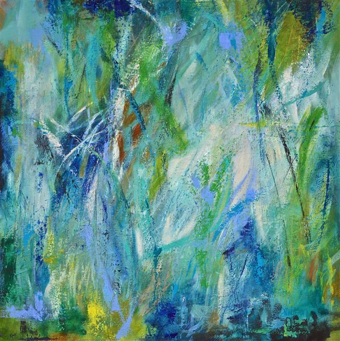 Discover Original Art by DL Watson | Sea Grass acrylic painting | Art for Sale Online at UGallery