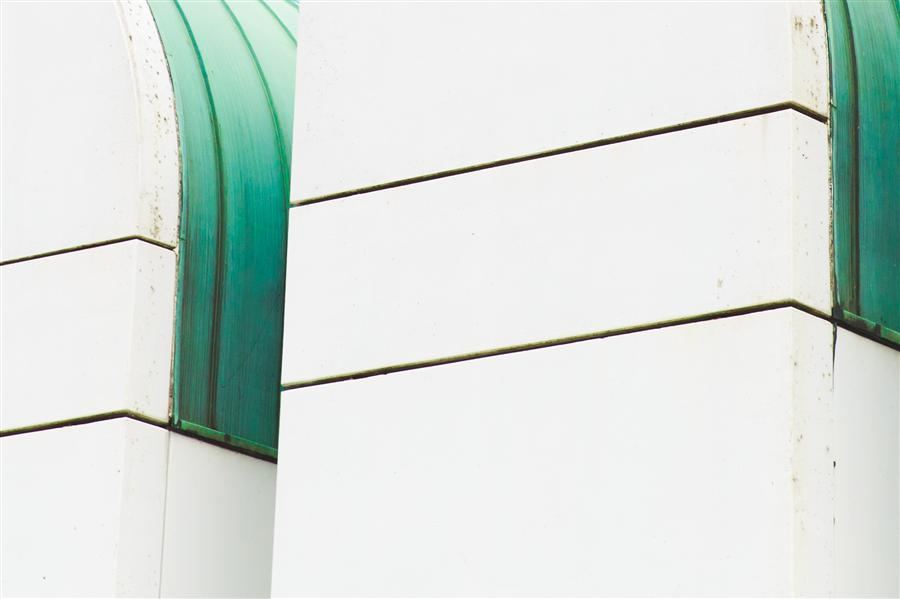 Original art for sale at UGallery.com | Bauhaus Detail by ALEXANDRA HENRY | $345 |  | ' h x ' w | \art\photography-Bauhaus-Detail