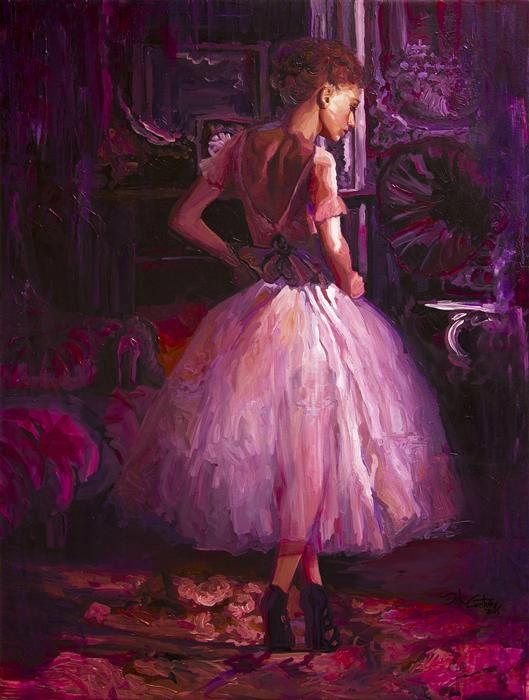 Discover Original Art by Seth Couture | Tanaquil's Melody acrylic painting | Art for Sale Online at UGallery