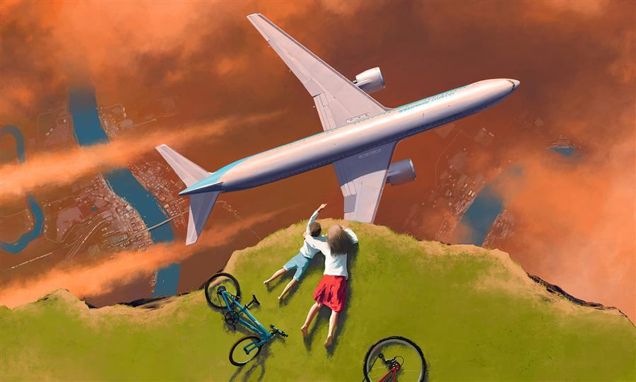 Discover Original Art by Alex Andreev | Pilots digital printmaking | Art for Sale Online at UGallery
