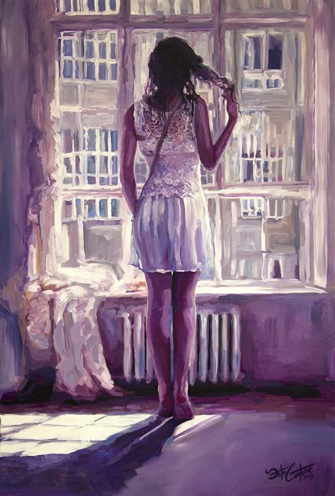 Discover Original Art by Seth Couture | Step to the Light acrylic painting | Art for Sale Online at UGallery