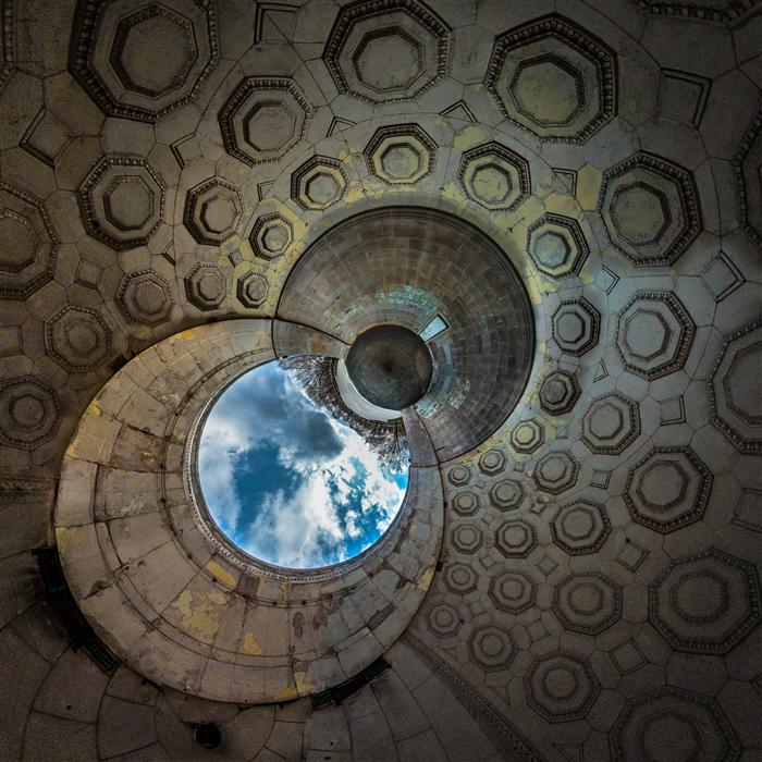 Original art for sale at UGallery.com | Central Park Stage by GERRAD HOLTZ | $185 |  | ' h x ' w | \art\photography-Central-Park-Stage