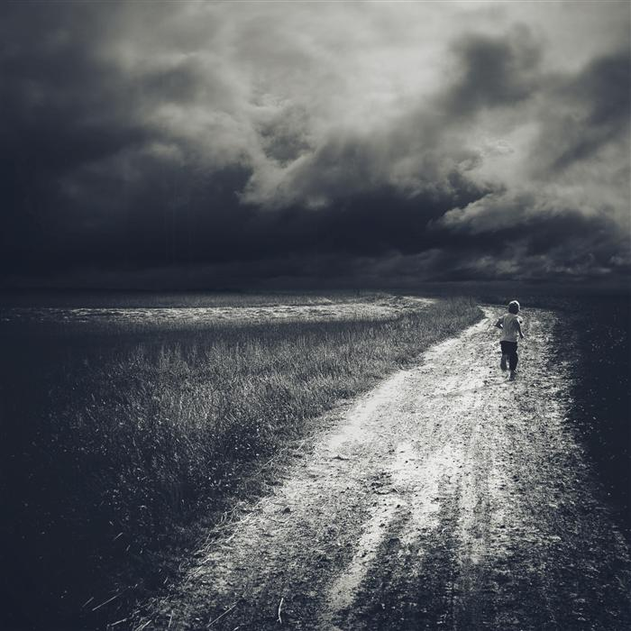 Original art for sale at UGallery.com | Path by RAFAL  KIJAS | $335 |  | ' h x ' w | \art\photography-Path