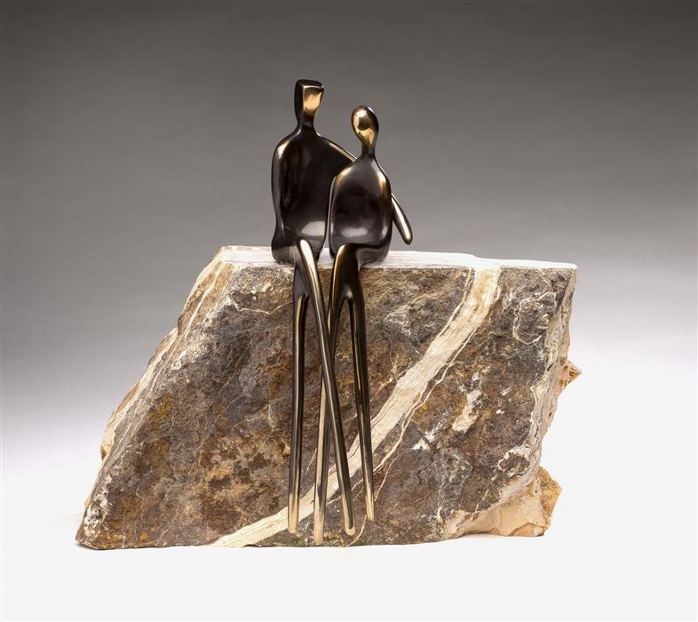 Discover Original Art by Yenny Cocq | Forever Us sculpture | Art for Sale Online at UGallery