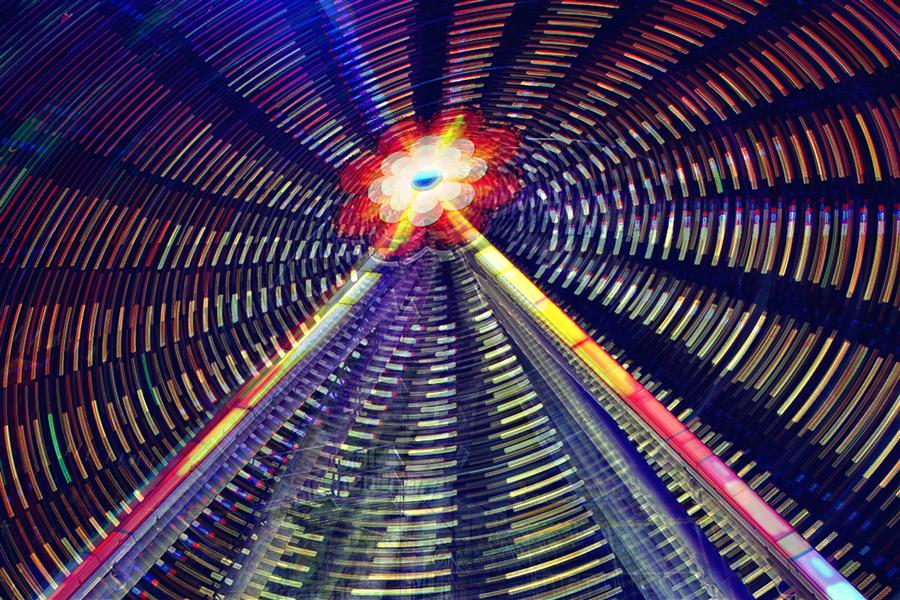 Original art for sale at UGallery.com | The Lights of Fun by ILYA KHUROSHVILI | $145 |  | ' h x ' w | \art\photography-The-Lights-of-Fun