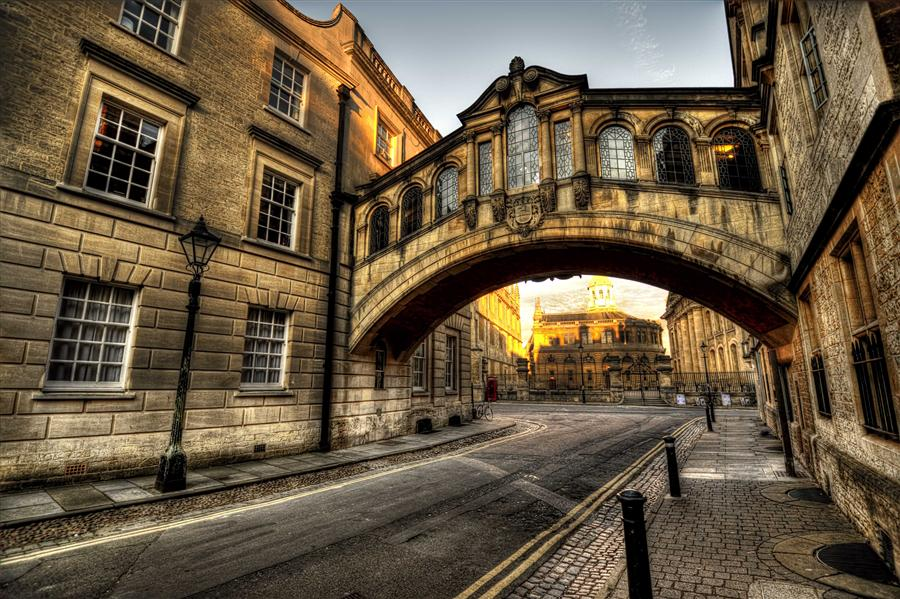 Original art for sale at UGallery.com | Bridge of Sighs, Oxford by NOELLE VISCONTI | $195 |  | ' h x ' w | \art\photography-Bridge-of-Sighs-Oxford