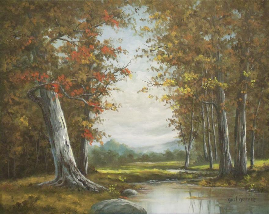 Discover Original Art by Gail Greene | One October Afternoon oil painting | Art for Sale Online at UGallery