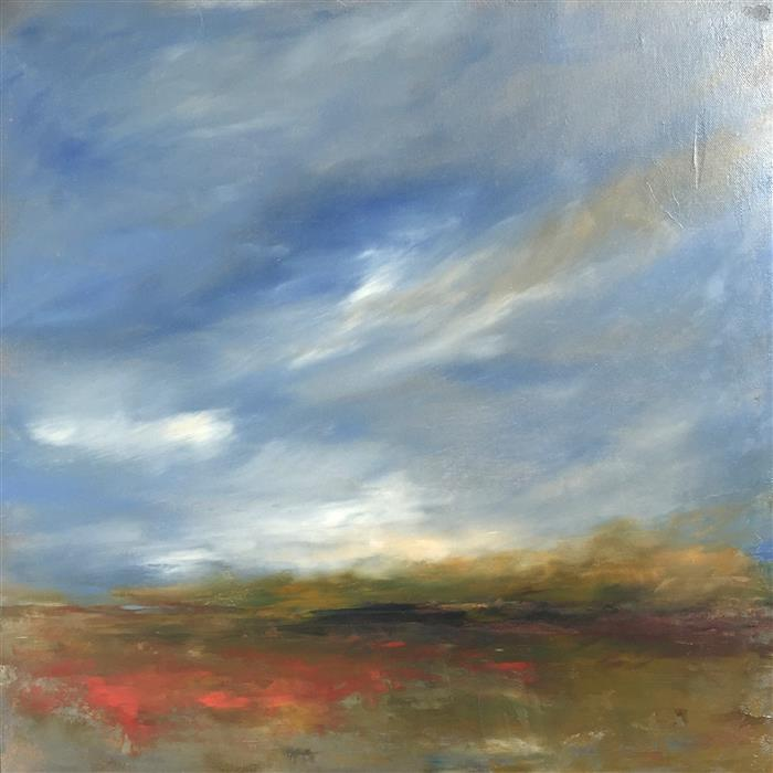 Discover Original Art by Faith Taylor | Windswept oil painting | Art for Sale Online at UGallery