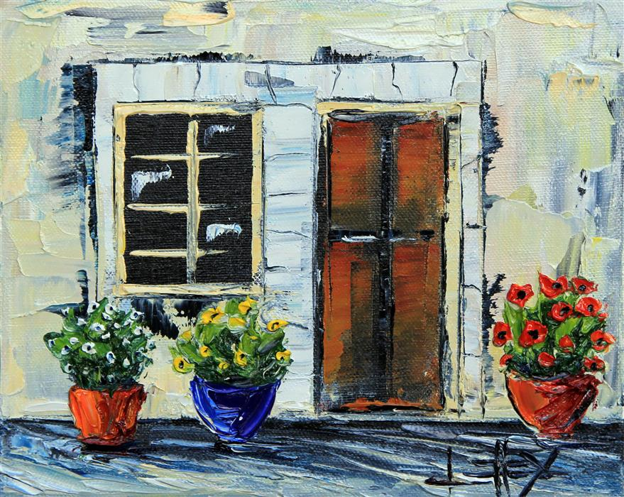 Discover Original Art by Lisa Elley | Giardino Italiano oil painting | Art for Sale Online at UGallery