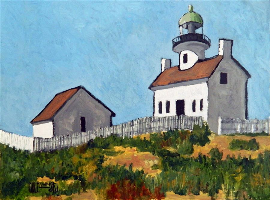 Discover Original Art by Robert  Holewinski | On the Coast oil painting | Art for Sale Online at UGallery