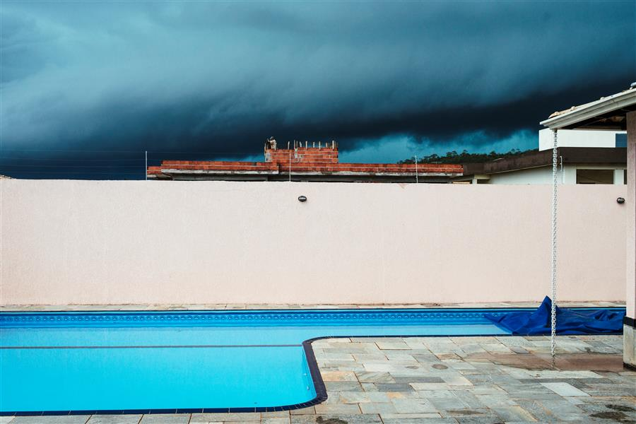 Original art for sale at UGallery.com | Coming Summer Storm by GUSTAVO MINAS | $145 |  | ' h x ' w | \art\photography-Coming-Summer-Storm