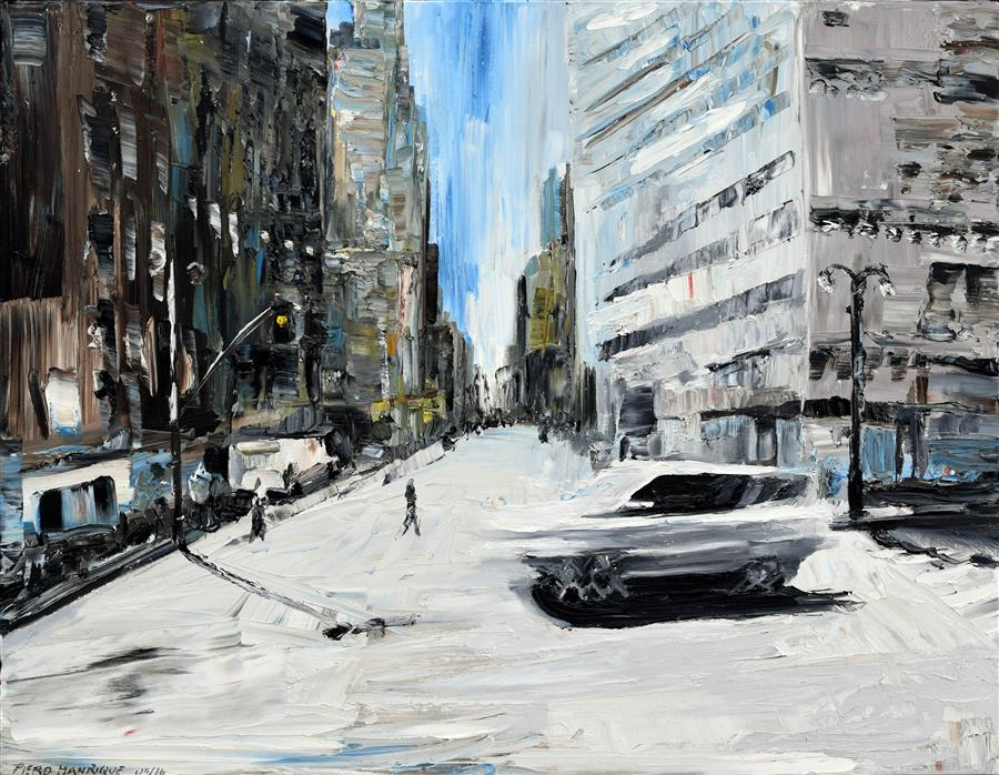Discover Original Art by Piero Manrique | Running Car oil painting | Art for Sale Online at UGallery