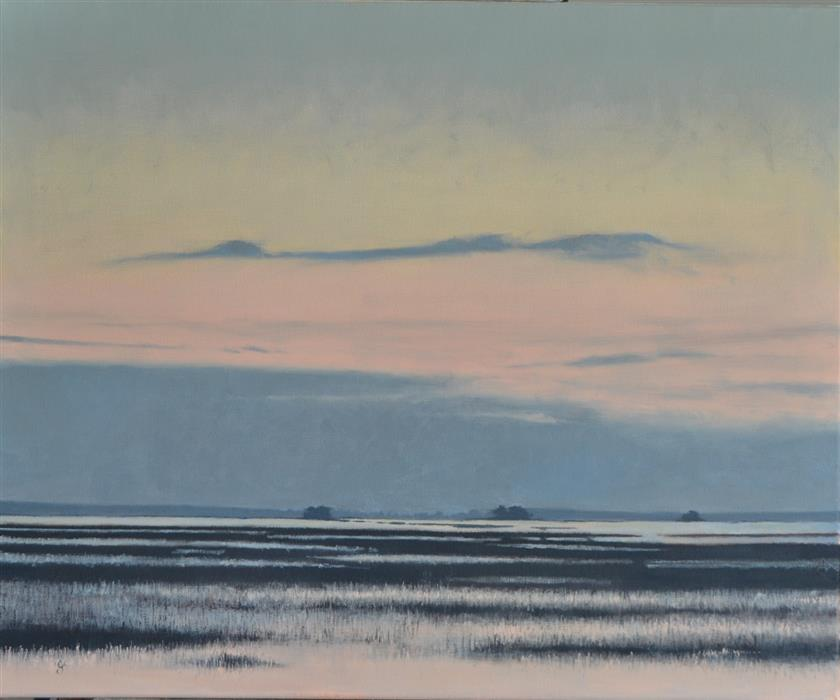 Discover Original Art by Christopher Garvey | Lowcountry Sunrise oil painting | Art for Sale Online at UGallery