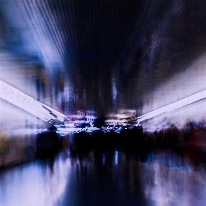Original art for sale at UGallery.com | Subway by RAFAL  KIJAS | $345 |  | ' h x ' w | \art\photography-Subway