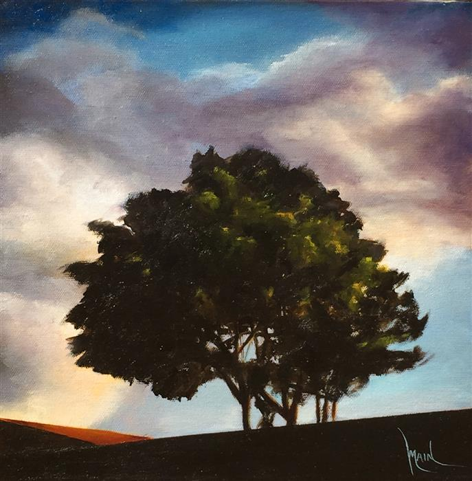 Discover Original Art by Mandy Main | Late Afternoon VI oil painting | Art for Sale Online at UGallery