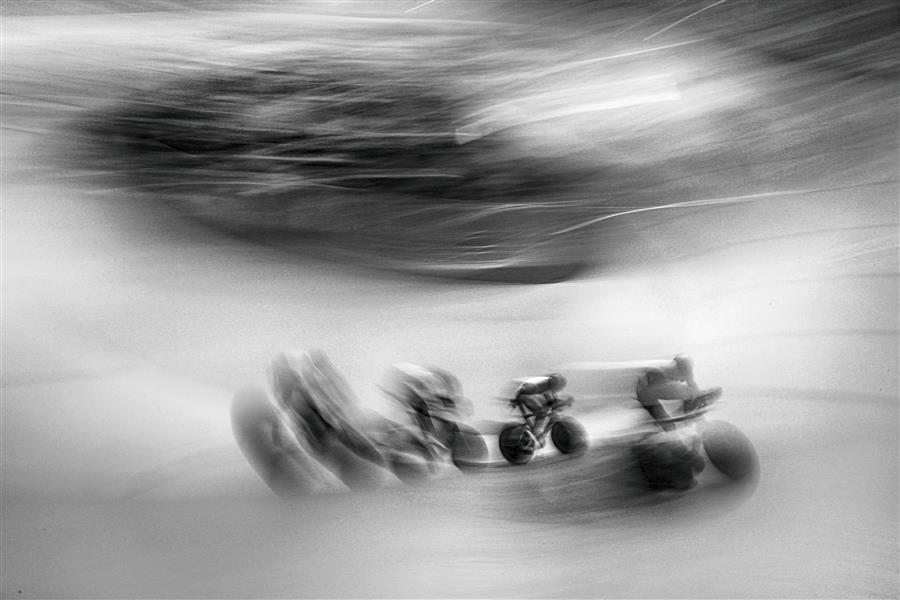 Original art for sale at UGallery.com | Olympic Men's Team Pursuit by MARIA PLOTNIKOVA | $145 |  | ' h x ' w | \art\photography-Olympic-Men-s-Team-Pursuit