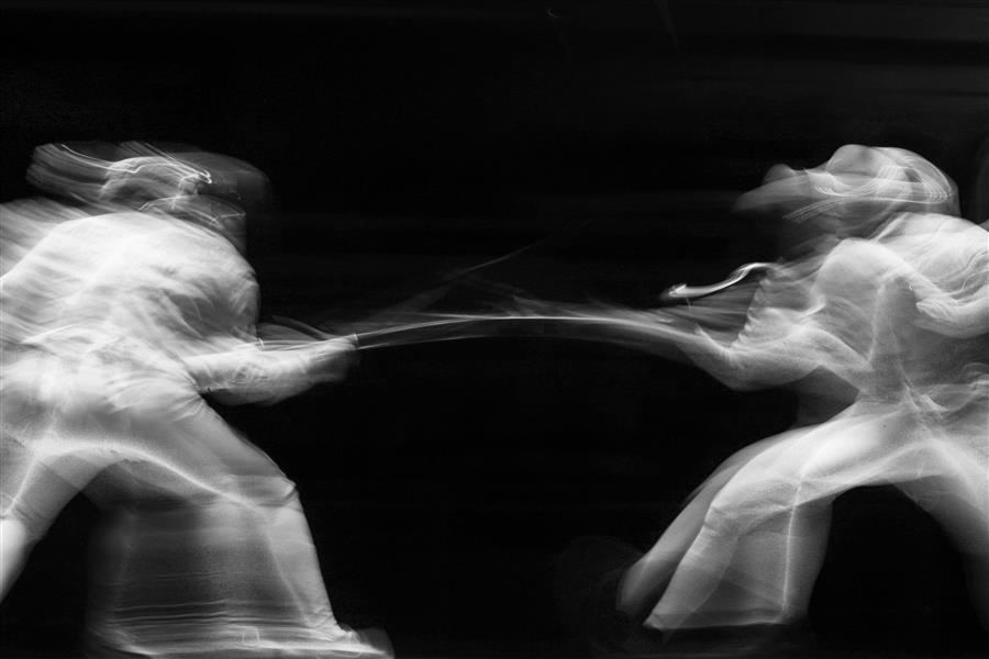 Discover Original Art by Maria Plotnikova | Olympic Fencing photography | Art for Sale Online at UGallery
