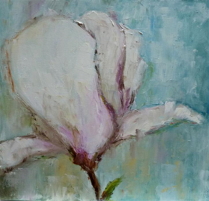 Discover Original Art by Judy Mackey | Patience II oil painting | Art for Sale Online at UGallery