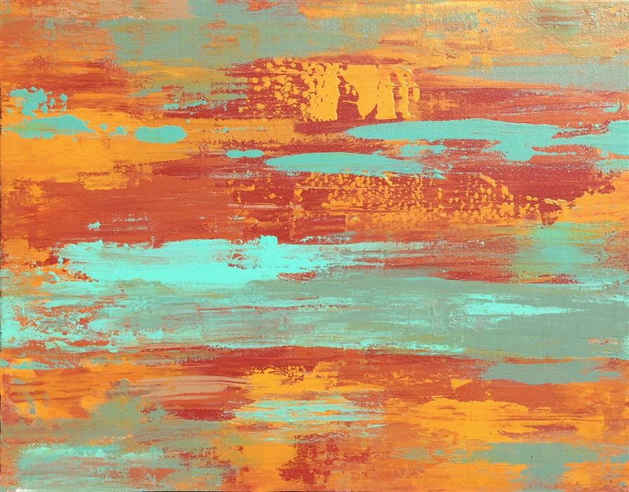 Discover Original Art by Alicia Dunn | Outpour acrylic painting | Art for Sale Online at UGallery