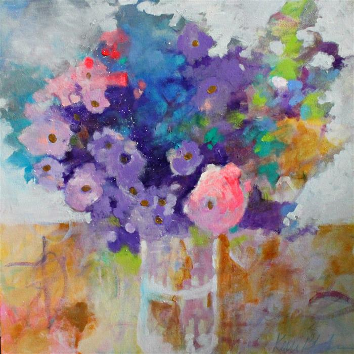 Discover Original Art by Kerri  Blackman | Summer's Glory acrylic painting | Art for Sale Online at UGallery