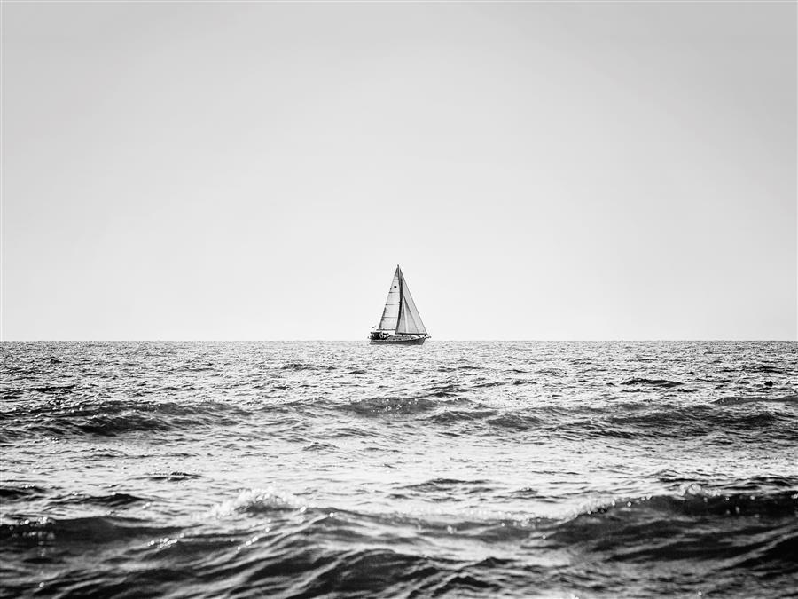 Original art for sale at UGallery.com | Sailing the Open Sea by STEPHANIE SHERMAN | $195 |  | ' h x ' w | \art\photography-Sailing-the-Open-Sea