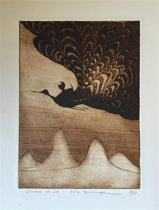 Discover Original Art by Doug Lawler | Flight printmaking | Art for Sale Online at UGallery