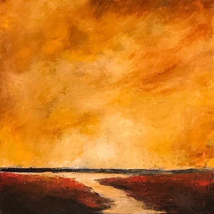 Discover Original Art by Mandy Main | Vista XVIII oil painting | Art for Sale Online at UGallery