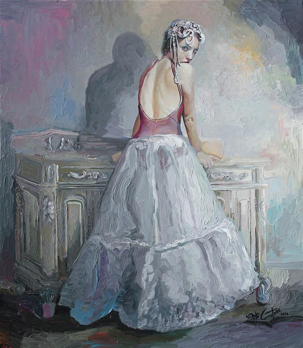 Discover Original Art by Seth Couture | La Esmeralda acrylic painting | Art for Sale Online at UGallery