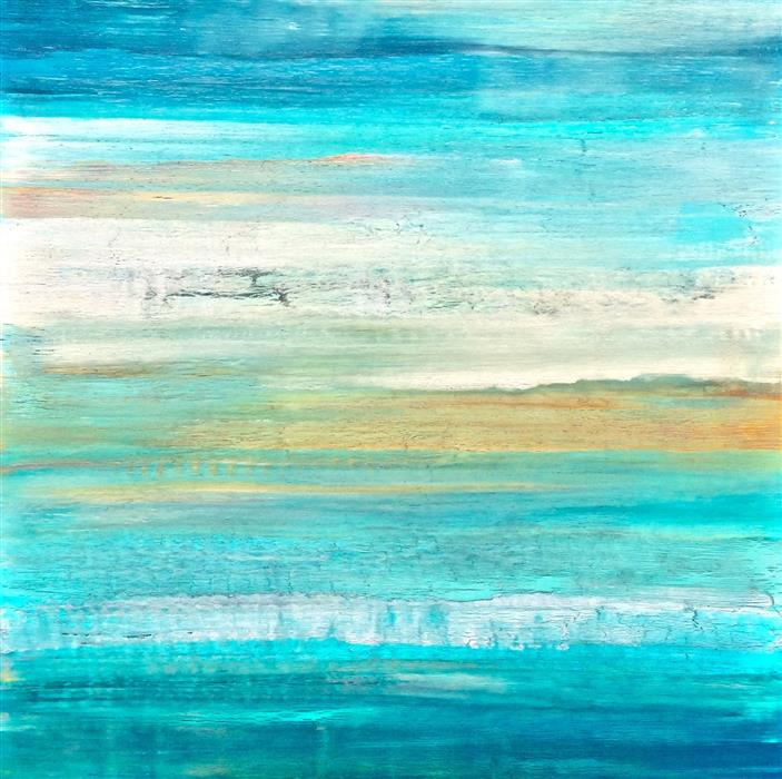 Discover Original Art by Alicia Dunn | Serenity I mixed media artwork | Art for Sale Online at UGallery