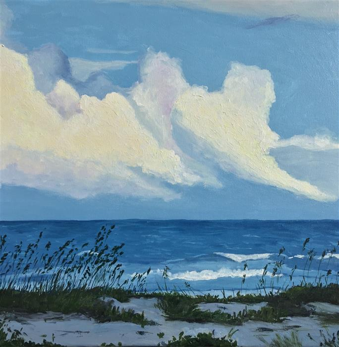 Discover Original Art by Patricia Freeman | Galveston, Oh Galveston acrylic painting | Art for Sale Online at UGallery
