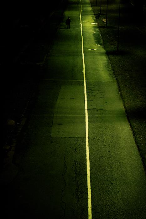 Original art for sale at UGallery.com | Lost Highway by RAFAL  KIJAS | $245 |  | ' h x ' w | \art\photography-Lost-Highway