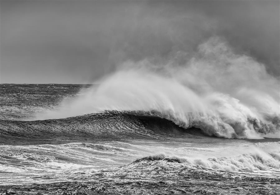 Original art for sale at UGallery.com | Power of the Ocean by MICHAEL BUSCH | $220 |  | ' h x ' w | \art\photography-Power-of-the-Ocean