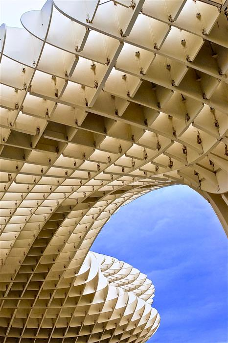 Original art for sale at UGallery.com | Metropol Parasol by RONALD ERSKINE | $145 |  | ' h x ' w | \art\photography-Metropol-Parasol