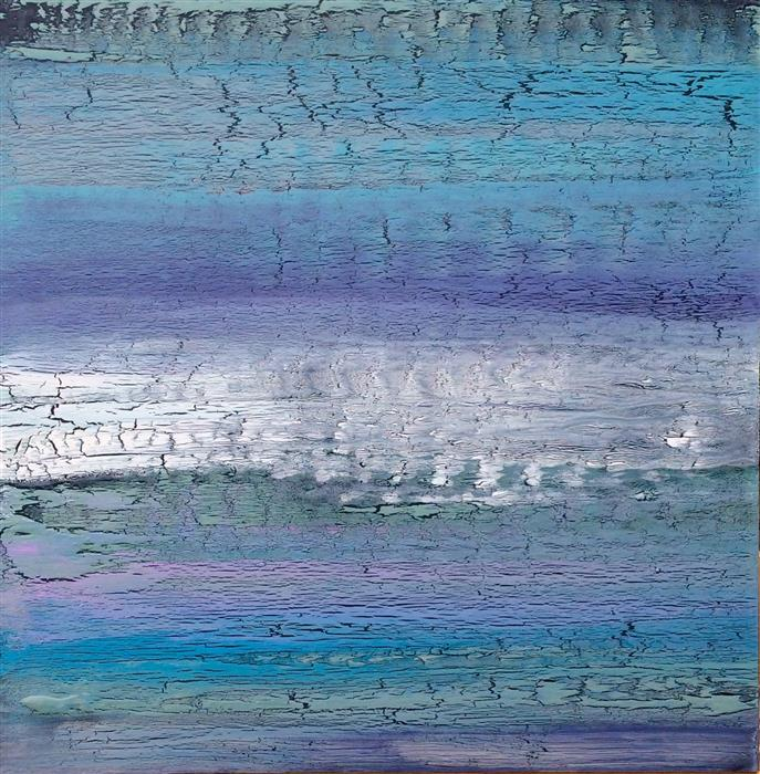 Discover Original Art by Alicia Dunn | Violet Mist acrylic painting | Art for Sale Online at UGallery