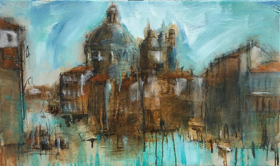Discover Original Art by Allen Wittert | Venice mixed media artwork | Art for Sale Online at UGallery