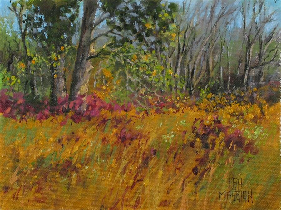 Discover Original Art by Suzanne Massion | Staghorn Meadow oil painting | Art for Sale Online at UGallery