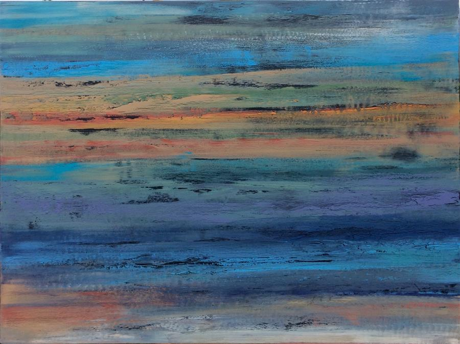 Discover Original Art by Alicia Dunn | Desert Sky acrylic painting | Art for Sale Online at UGallery