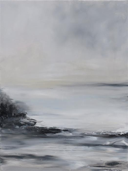 Discover Original Art by Jenn Williamson | Seascape III acrylic painting | Art for Sale Online at UGallery