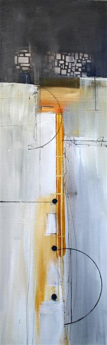 Discover Original Art by Nicholas Foschi | Vertical Lines mixed media artwork | Art for Sale Online at UGallery