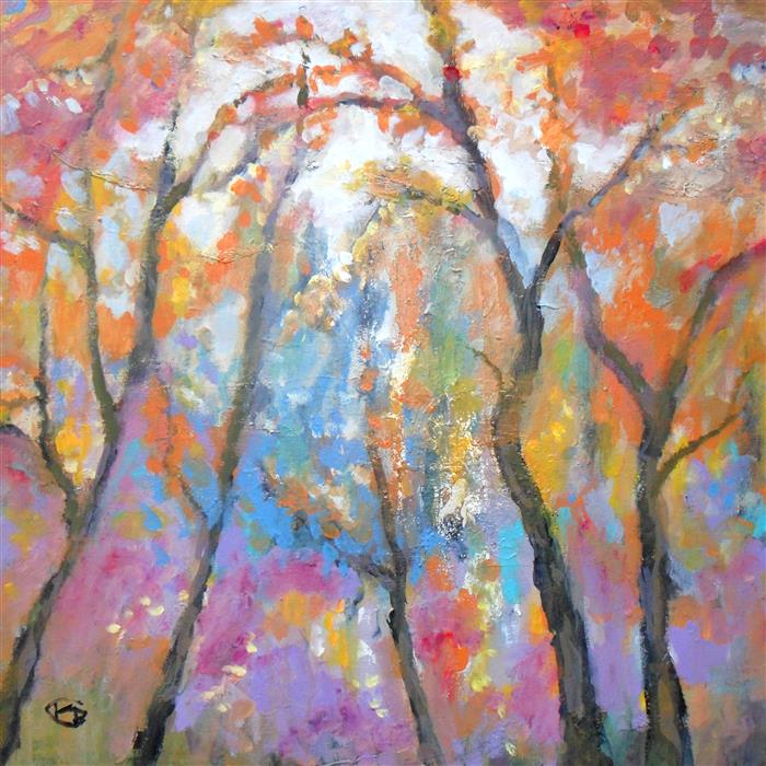 Discover Original Art by Kip Decker | First Frost acrylic painting | Art for Sale Online at UGallery