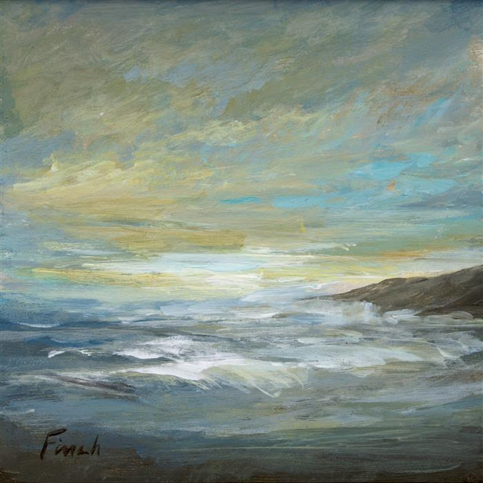 Discover Original Art by Sheila Finch | Storm's Passed acrylic painting | Art for Sale Online at UGallery