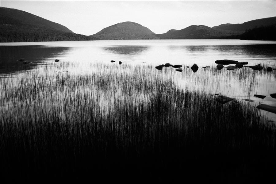 Original art for sale at UGallery.com | Jordan Pond, Acadia National Park by ADAM GARELICK | $195 |  | ' h x ' w | \art\photography-Jordan-Pond-Acadia-National-Park