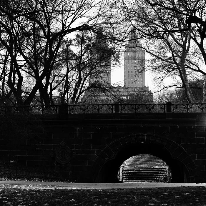 Original art for sale at UGallery.com | Central Park, Night by ADAM GARELICK | $185 |  | ' h x ' w | \art\photography-Central-Park-Night