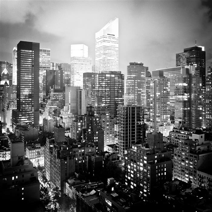 Original art for sale at UGallery.com | East Side, Manhattan by ADAM GARELICK | $185 |  | ' h x ' w | \art\photography-East-Side-Manhattan