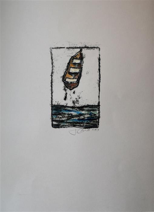 Discover Original Art by James Rees | Upward Journey printmaking | Art for Sale Online at UGallery
